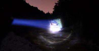 linternas profesionales policia